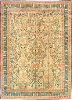Antique Rug, Antique Persian Tabriz, #3247 from the Nazmiyal Collection.  http://nazmiyalantiquerugs.com/antique-rugs/tabriz-rugs-antique/