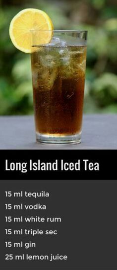Long Island iced tea | @sophieeleana