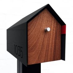 Post Mounted Front and Back Access Mailbox