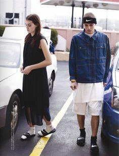 iris and daniel #nike highfashion #streetfashion #ナイキ