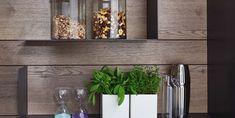 L-Borde Rückwand Küchen Design, Interior Design, German Kitchen, Floating Shelves, Traditional, Contemporary, Plants, Home Decor, Dublin