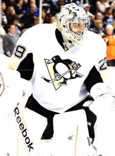 Marc-Andre Fleury • Pittsburgh Penguins • via barca-penguins / Tumblr