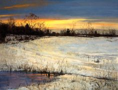 PETER FIORE  Going home-Winter dusk