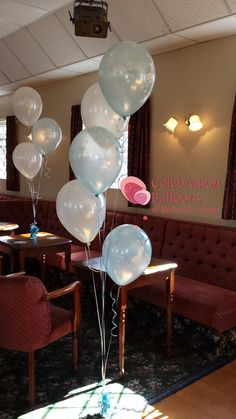 Floor standing balloon displays from www.rothwellballoons.co.uk Christening Balloons, Balloon Pictures, Celebration Balloons, Balloon Display, Wakefield, Decorate Your Room, The Balloon, Leeds, New Baby Products