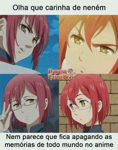 E no manga tbm 😂 Anime Ai, Anime Meme, Anime Naruto, Kawaii Anime, Manga Anime, Seven Deadly Sins Anime, 7 Deadly Sins, Yugi, Otaku Meme
