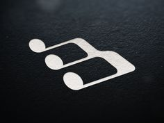 """MazinBits by simc // Looks like an """"M"""" and a """"B"""" and a music note. That's one hard working icon."""