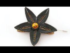 """Брошь из бисера """"Цвета осени"""" - YouTube"""