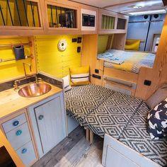 Spare bed in campervan - van life