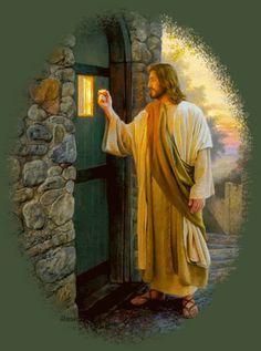 Jesus knocking at your door...