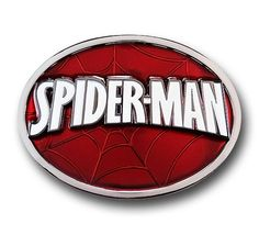 You've read the comics, seen the movies, enjoyed the animated series; maybe even wear the costume now and then. So you will certainly want to get this Spider-Man Logo Belt Buckle for your collection.  Wear it proudly and celebrat