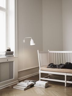 Caravaggio Wall White designed by Cecilie Manz http://www.lightyears.dk/lamps/wall-lamps/caravaggio-white.aspx