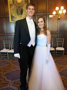 Escort Nicolas Goss and debutante Charlotte Hoefer at CPMC's 50th San Francisco Debutante Ball. June 2014. By Catherine Bigelow. Photo: Catherine Bigelow, Special To The Chronicle
