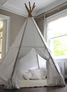 Rachael Rabbit Search results for Teepee & DIY 4-Sided Drop Cloth TeePee for $20   Drop Room and Playrooms
