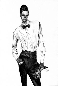 Alex Dunstan for Lanvin Menswear