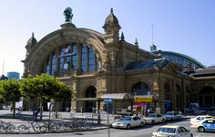 Hauptbahnhof, Frankfurt, Alemania