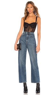 Shop for Women's Designer Clothing at REVOLVE CLOTHING. Find this season's must-have designer dresses, jeans, tops, jackets & more from top designer brands! Danielle Guizio, Parker Black, Casual Night Out, Fashion Lookbook, Revolve Clothing, Mom Jeans, Clothes For Women, Women's Clothes, Youth Culture