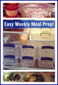 I'm always looking for ways to save time and money, so when my pal Kelly shared with me what she was doing, I knew I had to post it here at the blog! She told me that she had a problem of purchasing food for her weekly menu only to have food purchased for aView Post
