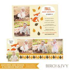 HerbstMiniSitzung und Facebook Timeline von birchandivydesign