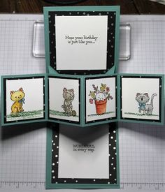 Stamping and other stuff: WWC96 - Gail's Special Fold Challenge