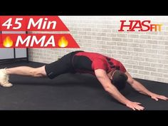 45 Min MMA Workout Routine - MMA Training Exercises UFC Workout Mixed Martial Arts BJJ MMA Workouts - YouTube