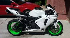 Images and Examples of Plasti Dipped Cars Plasti Dip Car, White Motorcycle, Ninja Zx6r, Supersport, Ace Hardware, Love Car, White Bodies, Sport Bikes, Cool Bikes