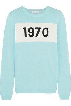 Bella Freud 1970 cotton sweater | NET-A-PORTER