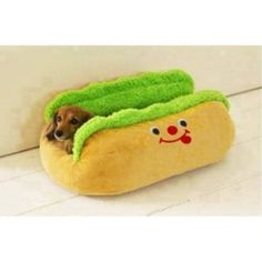 Hot Dog Dachshund Bed by ColorHouse