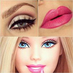 Barbie make up