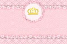 Golden Crown and Pink Lace: Free Printable Candy Bar Labels. Princess Cartoon, Princess Theme, Pink Princess, Princess Birthday, Girl Birthday, Pink Lace, Pink And Gold, Kit Digital, Candy Bar Labels