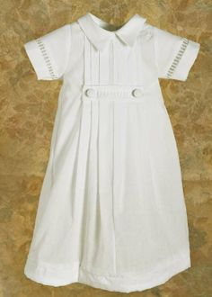 Little David preemie gown. Design for humanitarian angel boy baby project.