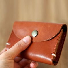 Fancy is the place for you to find amazing things curated by our global community. Discover and collect the things you love, and buy it all in one place! Leather Art, Custom Leather, Leather Design, Leather Tooling, Canvas Leather, Leather Purses, Leather Wallets, Leather Card Wallet, Coin Purse Wallet