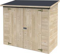 AKI Bricolaje, jardinería y decoración.  Armario madera BOX BIKE