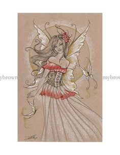 Limited Edition FAIRY PRINT by Amy Brown