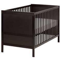 SUNDVIK Crib - IKEA, only $120. No need to break the bank on an expensive crib that wont be used super long