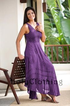 Shop Norma Jean Boho Maxi Sun Dress In Purple Passion: http://holyclothing.com/index.php/norma-jean-empire-waist-lace-floral-chiffon-boho-maxi-sun-dress.html From $57.99. Repins are always appreciated :) #holyclothing #fashion