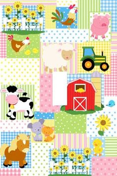 Farm theme Light Switch Plate cover Kids Room by Stillwatersgifts, $6.99