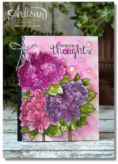 FebFancyFriday/there is a row of squares showing the colors used below the card - I love them!