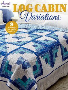 Quilt - Log Cabin Variations Quilt Pattern Book - #141415