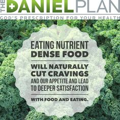 Eating nutrient dense food will naturally cut cravings & our appetite & lead to deeper satisfaction with food & eating.