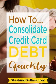 Tired of having credit card debt? Check out these options for consolidating cons - Credit card interest rate - Ideas of Credit card interest rate - Tired of having credit card debt? Check out these options for consolidating consumer debt Small Business Credit Cards, Paying Off Credit Cards, Loan Consolidation, Credit Card Interest, Payday Loans, Dave Ramsey, Debt Payoff, Debt Free, Wells