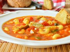 Yum... I'd Pinch That! | MINESTRONE--THE REAL DEAL