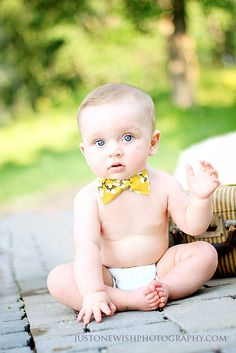 Just One Wish Photography - Blog. Bow tie = so cute.