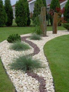 16 Best Of Simple Small Backyard Landscaping Ideas 4389 Small Backyard Landscaping, Landscaping With Rocks, Landscaping Ideas, Modern Backyard, Succulents Garden, Garden Beds, Garden Inspiration, Landscape Design, Friday