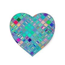 Re-Created Mosaic Heart Sticker #Robert #S. #Lee #art #graphic #design #iphone #ipod #ipad, #samsung #galaxy #s4 #s5 #s6 #case #cover #tech #geek #gadget #skin #colors #mug #bag #pillow #stationery, #apple #mac #laptop #sleeve #pullover #sweat #shirt #tank #top #hoody #kids #children #boys #girls #men #women #ladies #light #home #office #style #fashion #accessory #for #her #him #gift #want #need #print #canvas #framed