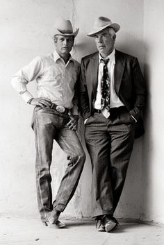 Now here's a couple of real men... Lee Marvin had one of the best voices in movies.