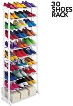 Afbeeldingsresultaat voor 30 shoes rack
