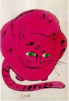 andy warhol cat