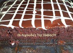 Η πιο ''Κολασμένη Σοκολατόπιτα''!!! Σιροπιασμένη από πάνω μεχρι κάτω,καθόλου λιγωτική και καλυμένη με γκανάζ σοκολάτας!!! ΥΛΙΚΑ ΓΙΑ ΤΟ ΚΕΙΚ 1/2 κούπα ζάχαρη 1/2 κούπα γάλα εβαπορέ αδιαλυτο σε θερμ.δωμ. 1 κούπα αλευρι γ.ο.χ κοσκινισμένο 2 κ.σ κακάο κοσκινισμένο 1 κ.γ μπέικιν 1/4 κ.γ