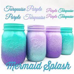 Mermaid Centerpiece, Mermaid Nursery, Mermaid Birthday Party, Mermaid Party, Mermaid Baby Shower, Under the Sea Party, Mermaid Bedroom, Gift