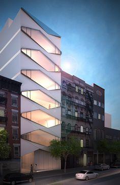 Karim Rashid asks Facebook followers to pick facade for NY building.